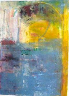 'Summer'monoprint, 16 x 20, $275